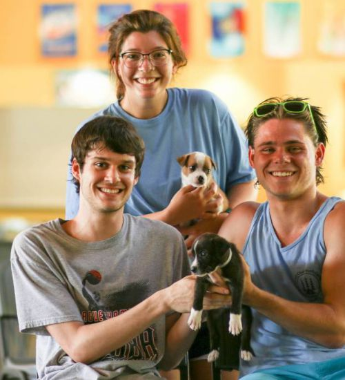 2018 - Camp Opportunity - Rotary Staff - Puppies (1)